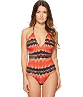 Paul Smith - Plung Halter One-Piece Swimsuit