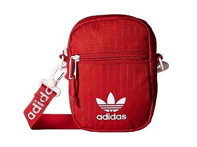 adidas Originals Festival Bag Crossbody (Red) Bags