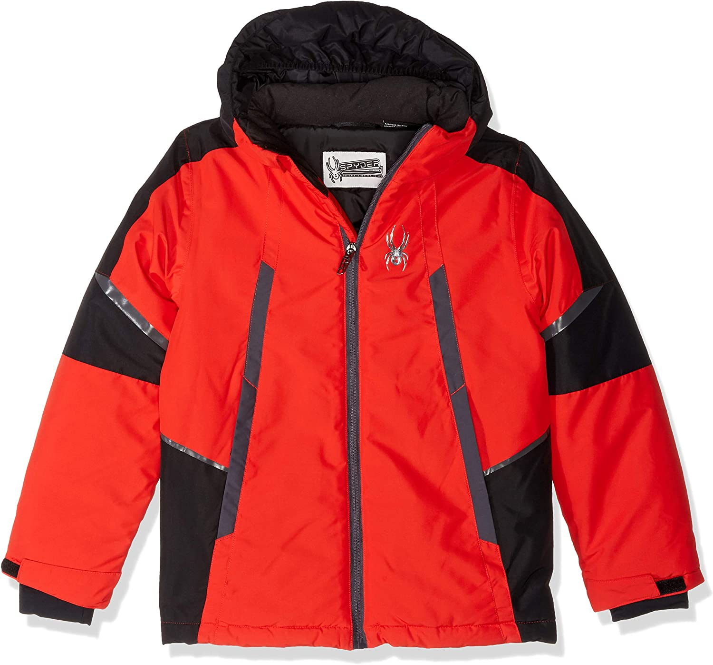 ご注文で当日配送 Spyder Boys' Big City to Slope Jacket Poly Hooded Full Zip with 迅速な対応で商品をお届け致します