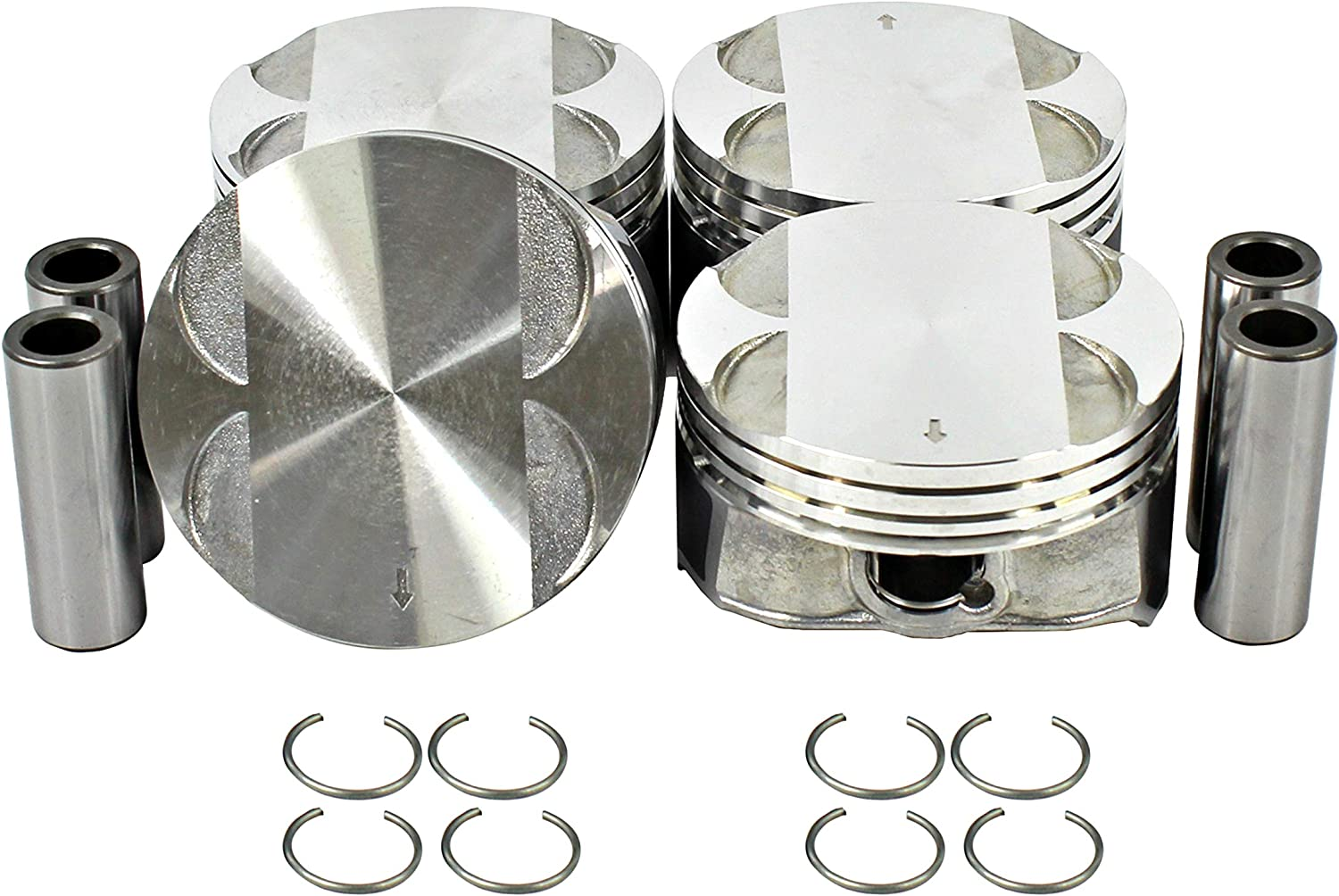 DNJ P336 Piston Set for GMC Ponti Popular SEAL limited product product 2006-2015 Buick Chevrolet