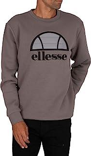 Ellesse Manto Sweatshirt, mens, Sweatshirt, SHG09739_XS, Dark Grey, XS