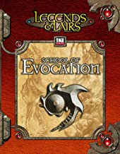 Legends & Lairs: School Of Evocation