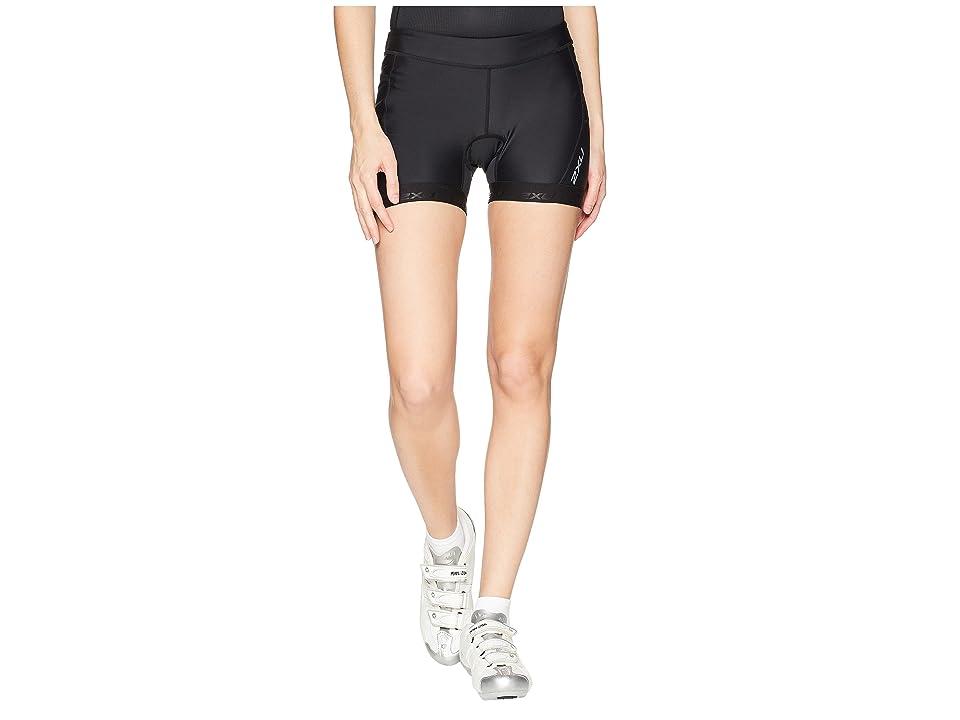 Image of 2XU Active 4.5 Tri Shorts (Black/Black) Women's Workout