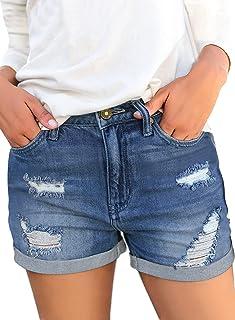 شلوار جین پریشانی پشمی شلوار جین پاره پاره شده را نگاه کنید