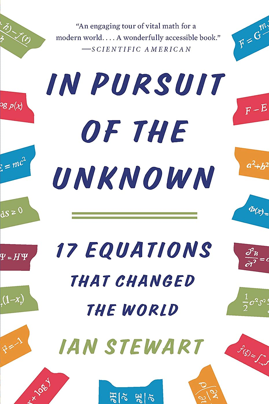 ハム触覚センブランスIn Pursuit of the Unknown: 17 Equations That Changed the World (English Edition)
