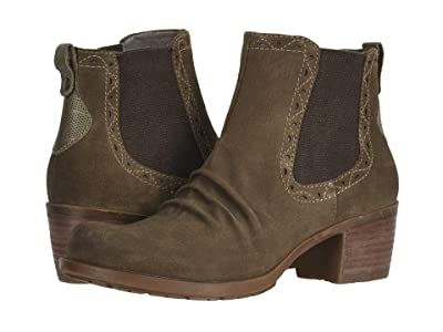 Earth Denali Aspect (Dark Khaki Multi Premium Cow Suede/Soft Calf) Women