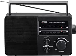 JP-1 AM/FM 2 Band Portable Radio AC operated or operated by dry battery (