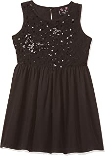Smiling Bows Girls Sequin Party Dress