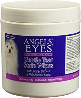 Angels' Eyes Gentle Tear 100 ct Presoaked Textured Stain Wipes
