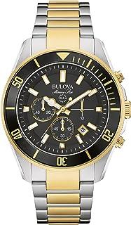Bulova, Reloj Analógico para Hombre, 98B249, Negro