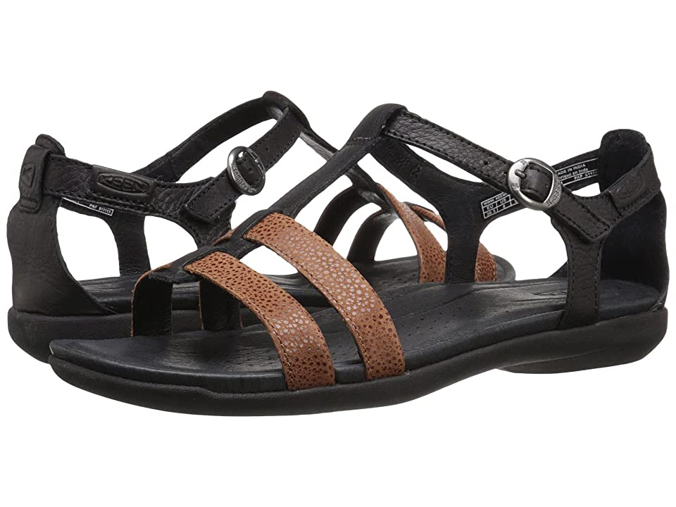 Keen Rose City T-Strap (Black/Tortoise Shell) Women