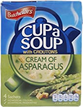 Batchelors Cup a Soup with Croutons Cream of Asparagus 4 Sachets 117 g (Pack of 9)