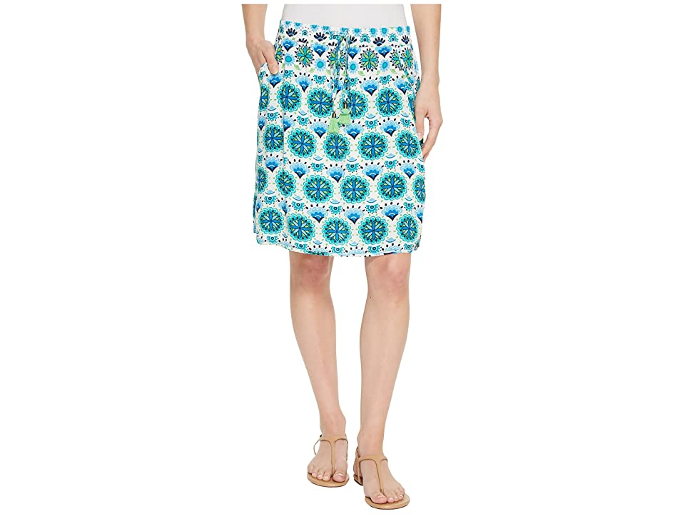 Hatley Christine Skirt (Aqua Sarchi) Women
