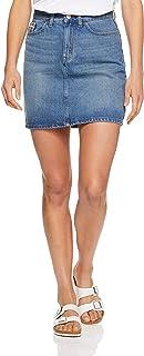 CALVIN KLEIN Women's 5 Pocket Jean Mini Skirt