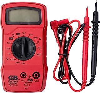 Gardner Bender GDT-311 Digital Multimeter, 3 Function, 11 Range, Tests AC/DC Voltage and Resistance, Manual Ranging, 3.5 i...