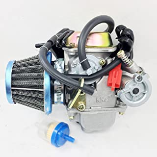 Performance Carburetor W/Filter Gy6 150cc Scooter Roketa SUNL Go-Kart GY6 PD24