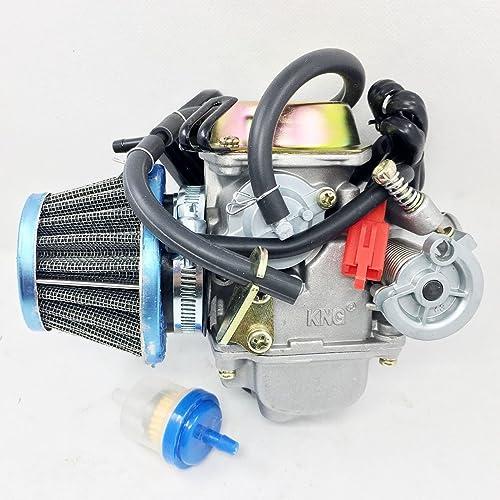 Go Kart Scooter GY6 150cc ATV Performance Carburetor CDI Box Coil U CA10+