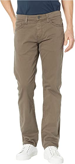 Zach Mid-Rise Straight Leg in Morel Sateen Twill