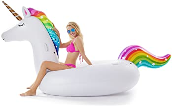 Dream Horse Inflatable Pool Floats 29 Inch Adult Waist Swimming Float Ring Summer Beach Swimming Pool Lounge Decorations Toys for Adults /& Kids