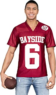AC Slater #6 Bayside Tigers Costume Football Jersey