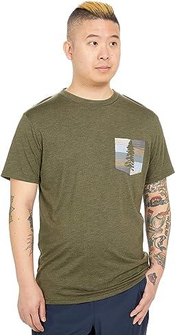 Spruce Stripe Pocket T-Shirt