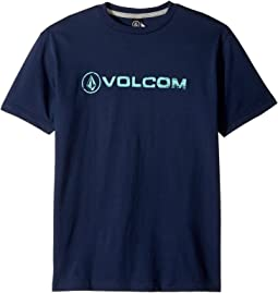 Volcom Kids - Lino Euro Short Sleeve Tee (Big Kids)