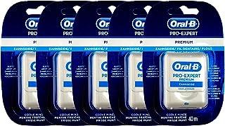5x PRO-EXPERT Premium Zahnseide 40 m Spender Dental Floss Coole Minze