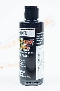 Createx Auto-Air Colors 4oz Pearlized Black 4314 Custom Airbrush Paint. by SprayGunner