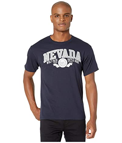Champion College Nevada Wolf Pack Jersey Tee (Navy 3) Men