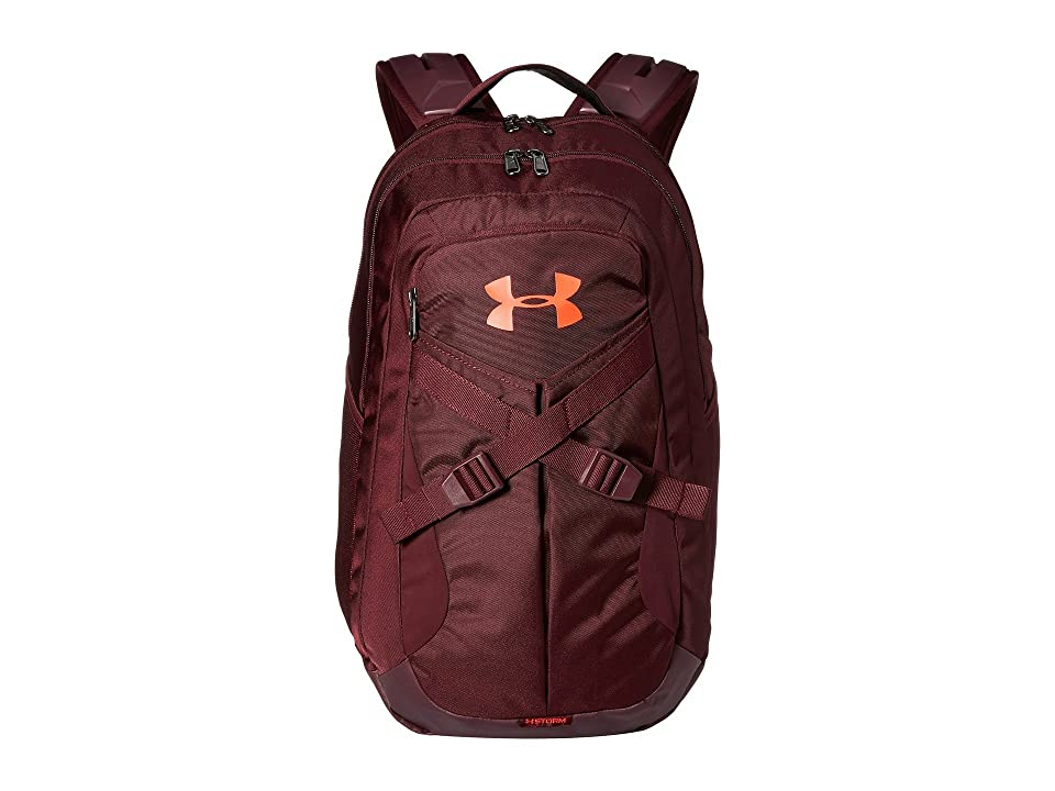 Under Armour UA Recruit 2.0 (Dark Maroon/Overcast Gray/Radio Red) Backpack Bags