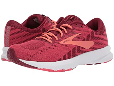 Brooks Launch 6 (Rumba Red/Teaberry/Coral) Women
