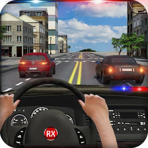 Polizei verfolgt im Auto