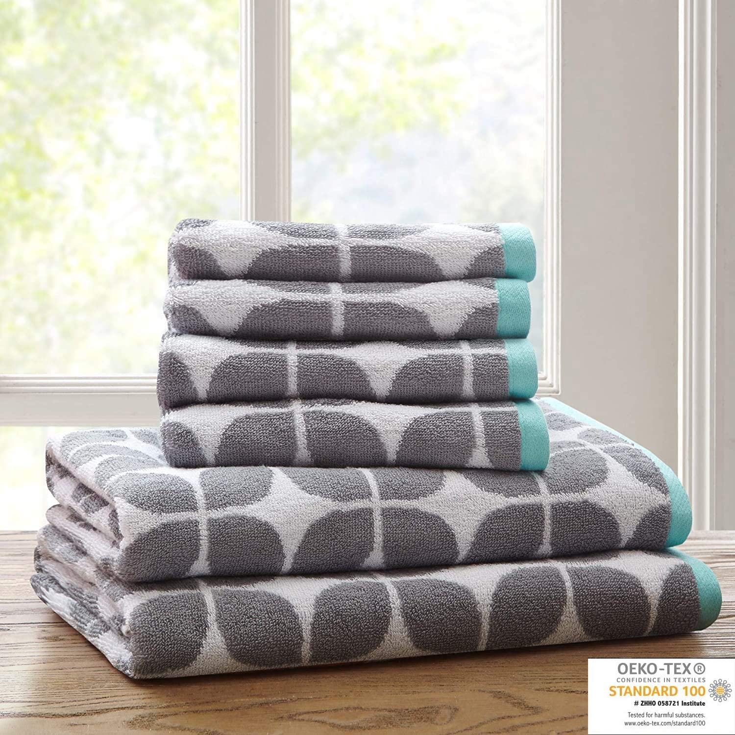 Lita Cotton Bathroom Towels Jacquard Absorbent Highly online shopping Tow Max 42% OFF Bath