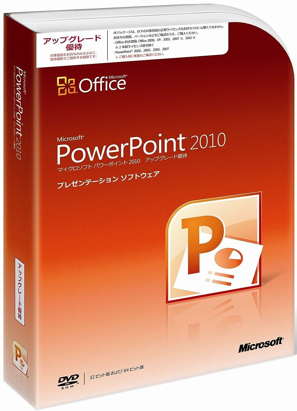 地味な極貧人気の【旧商品】Microsoft Office PowerPoint 2010 アップグレード優待 [パッケージ]