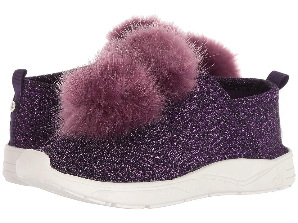 Sam Edelman Kids Ariana Pom (Little Kid/Big Kid) (Pink Shimmer) Girls Shoes