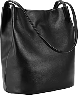 Iswee Leather Totes Shoulder Bag Fashion Handbags and Purses for Women and Ladies