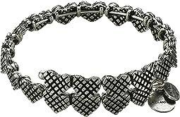 Romance Heart Wrap Bracelet