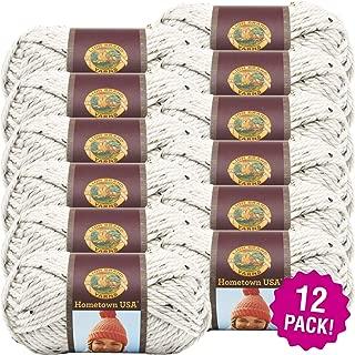 Lion Brand 99065 Aspen Tweed Hometown USA Yarn 12/Pk 12 Pack