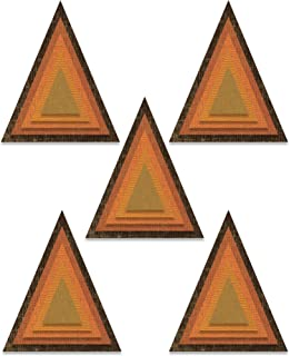 Sizzix Thinlits Die Set 25PK 664748 Stacked Tiles Triangles by Tim Holtz