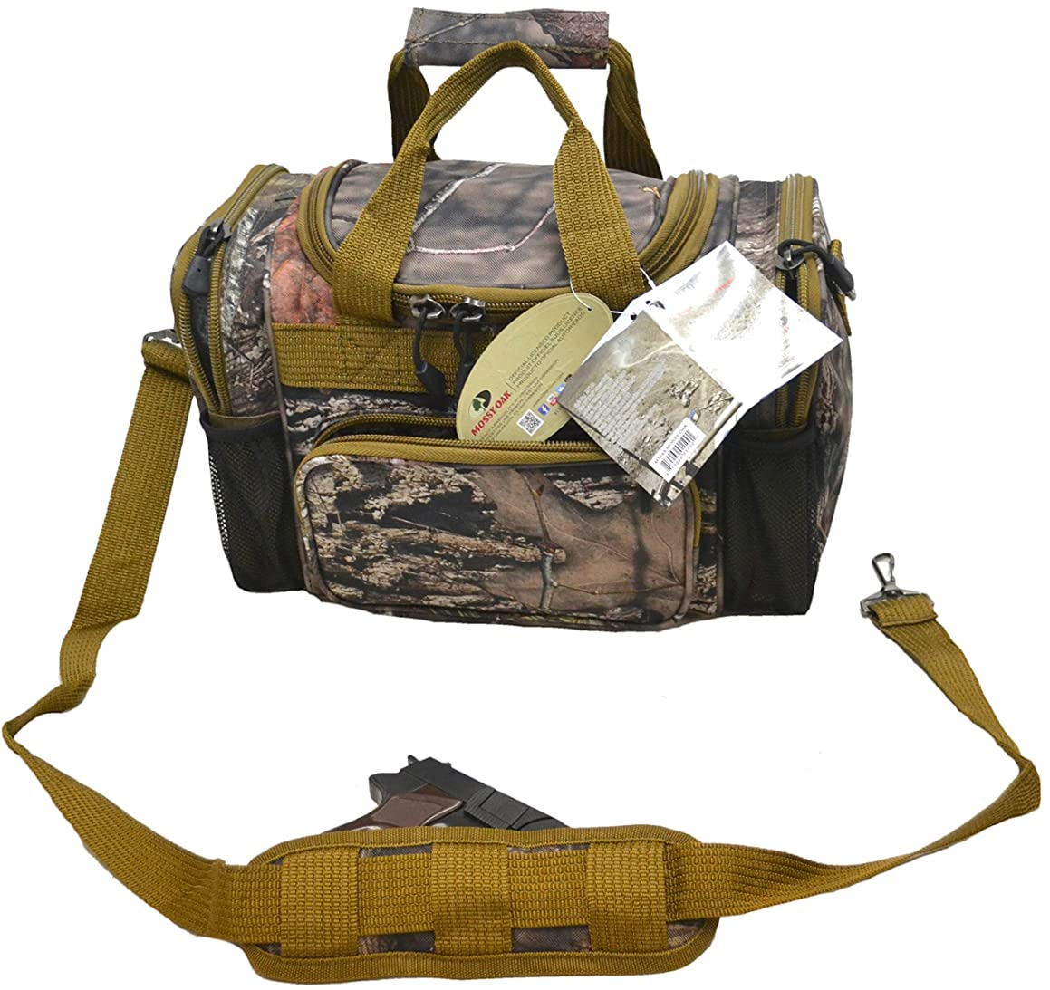 Explorer Mossy Oak Realtree Like Camo Tactical Hunting Camo Duffel Bag Luggage Travel Gear for Men Women Girl Hunting Outdoor Police Security