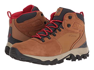 Columbia Newton Ridge Plus II Suede WP (Elk/Mountain Red) Men
