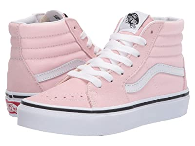 Vans Kids SK8-Hi (Little Kid) (Blushing/True White) Girls Shoes