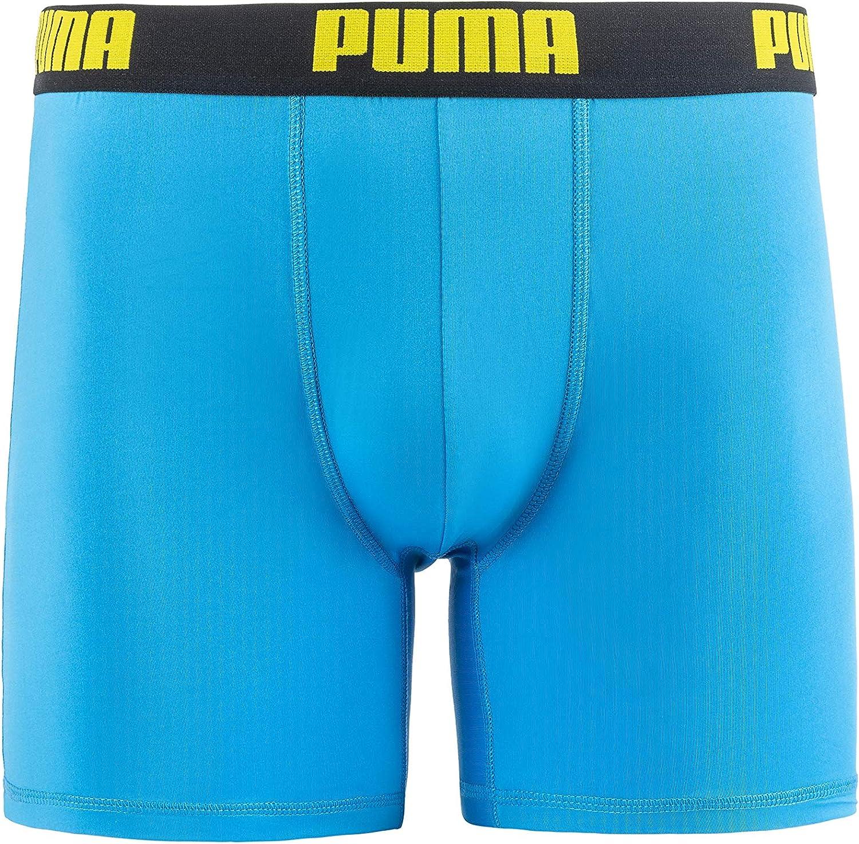 PUMA Men's 3 Pack Performance Boxer Briefs