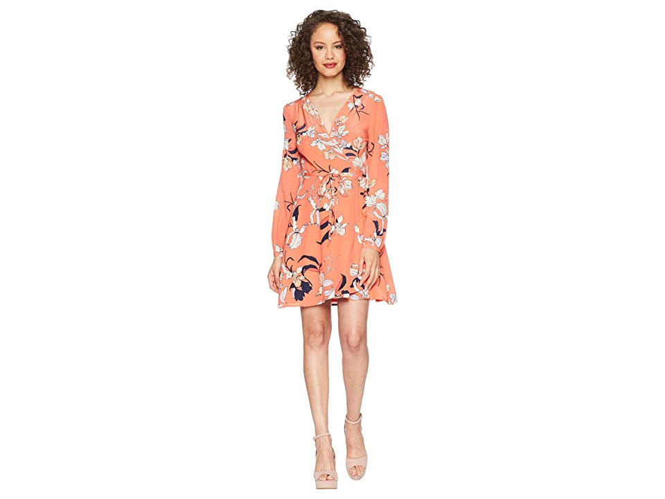 Yumi Kim Duchess Wrap Dress (Orchid Blush/Coral) Women