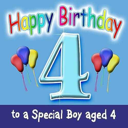 Happy Birthday (Boy Age 4) By The London Fox Singers