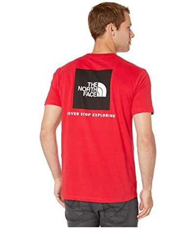 The North Face Short Sleeve Red Box T-Shirt (TNF Red/TNF White) Men