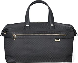 SAMSONITE Uplite Duffle 45 Expandable, 30/42.5L - 0.7 KG Travel Duffle, cm, 30 liters, Black (Black/Gold)