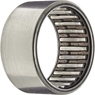 """INA SCE2012 Needle Roller Bearing, Steel Cage, Open End, Inch, 1-1/4"""" ID, 1-1/2"""" OD, 3/4"""" Width, 8800rpm Maximum Rotational Speed, 8900lbf Static Load Capacity, 4750lbf Dynamic Load Capacity"""