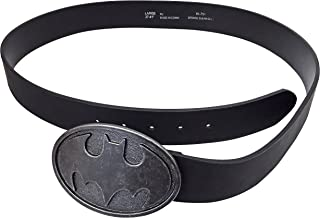 Blanc PU Cuir Batman ceinture