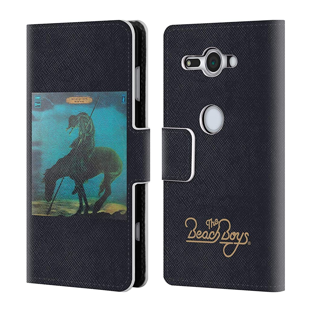 Official The Beach Boys Surfs Up Album Cover Art Leather Book Wallet Case Cover for Sony Xperia XZ2 Compact